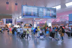 KLIA2 luchthaven Maleisië Royalty-vrije Stock Afbeeldingen