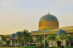 KLIA mosque. The beautiful Kuala Lumpur International Airport (KLIA) mosque at Sepang, Malaysia Royalty Free Stock Photos