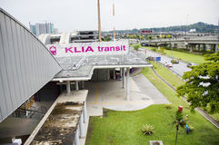 KLIA Transit Station Royalty Free Stock Photography