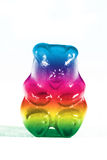 klibbig björn arkivfoton