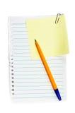 klibbig paper påminnelse för gem Arkivbild