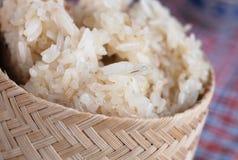 klibbig rice Royaltyfri Foto