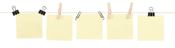 klibbig yellow för mashupanmärkning Fotografering för Bildbyråer