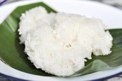 Klibbiga ris eller thailändska klibbiga ris Royaltyfri Fotografi