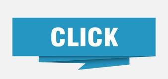 klick stock illustrationer