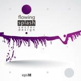 Klick för färgpulver för vektorborste mångfärgad målad, backgrou för fläck eps8 Royaltyfri Fotografi