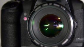 Klick för kameraslutare arkivfilmer