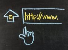 Klicka för Homepage Arkivbild