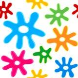 klickar mönsan seamless Arkivfoto