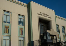 Klickitat County Courthouse in Goldendale, Washington Stock Photos