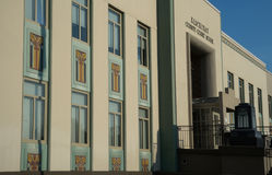 Klickitat okręgu administracyjnego gmach sądu w Goldendale, Waszyngton Obraz Stock