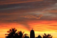 Klickizzz silhouette Stock Image