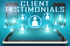 Klientów Testimonials zdjęcie royalty free