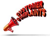 Klient skargi royalty ilustracja
