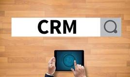 Klienta CRM zarządzania analizy poważny interes CRM Zdjęcie Stock