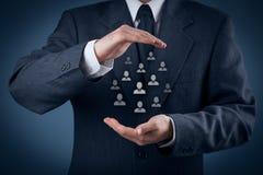 Klienta lub pracowników opieki pojęcie Fotografia Stock