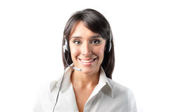 klienta operatora usługa fotografia royalty free