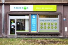 Klienta poparcia centrum Residomo lokalowa do wynajęcia firma zdjęcie royalty free