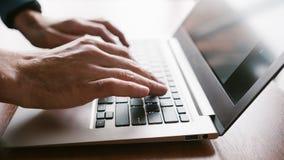 Klienter för affär för kontorsarbetsplatsbärbar dator Arkivbild