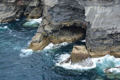 klifów Północnej Zdjęcie Stock