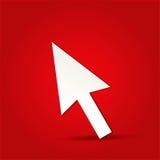Klik pictogram Royalty-vrije Stock Foto