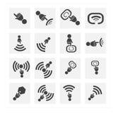 Klik pictogramreeks Royalty-vrije Stock Afbeeldingen