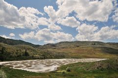 Klikuk, Spotted lake in Osoyoos, BC Stock Photography
