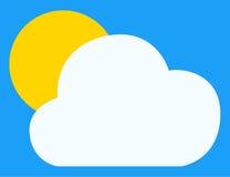 Klima-Ikone Lizenzfreie Stockfotos