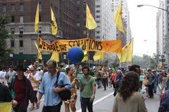 Klima März NYC 2014 Stockbilder