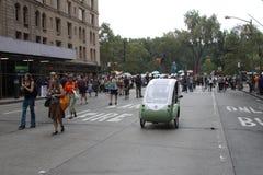 Klima März NYC 2014 Lizenzfreies Stockbild