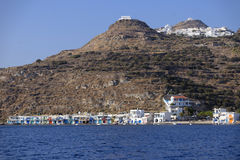 Klima village in Greece Stock Photography