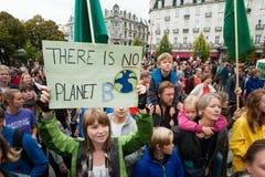 Klimaaktivisten Stockbild