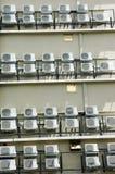 Klimaanlage auf einem Gebäude Stockbild