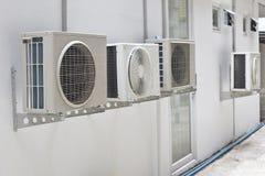 Klimaanlage an der Wand Stockbild