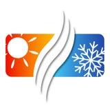 Klimaanlage für Haus Lizenzfreie Stockfotos