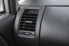 Klimaanlage innerhalb des Autos Stockbilder