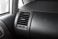 Klimaanlage innerhalb des Autos Stockfotografie