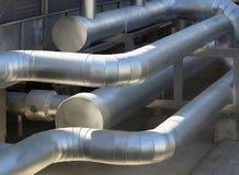 Klimaanlage-Rohr Stockfoto