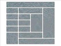 Klimaanlage-Universalarmee-städtische Tarnung-Web-Tasten Lizenzfreie Stockfotografie