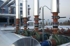 Klimaanlagemotoren Stockfoto