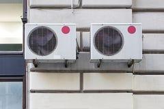 Klimaanlagen Stockfotografie