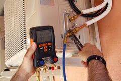 Klimaanlagenkompressor Lizenzfreie Stockbilder