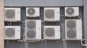 Klimaanlagenmaschine Stockfotos