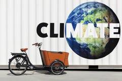 Klimaat en milieu stock foto