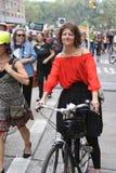 Klimaat Maart NYC 2014 royalty-vrije stock foto's