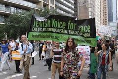 Klimaat Maart NYC 2014 stock afbeeldingen
