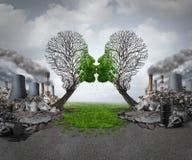 Klimaatterugwinning stock illustratie