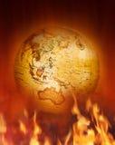 Klimaatveranderingaarde Stock Afbeeldingen