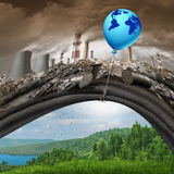Klimaatveranderingalgemene overeenkomst Royalty-vrije Stock Foto