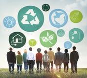 Klimaerhaltungs-Leben-Bewahrungs-Schutz-Wachstum C lizenzfreies stockfoto